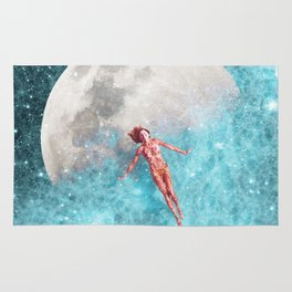 FLOATING TO THE MOON Rug