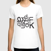 helvetica T-shirts featuring helvetica 01 by Vin Zzep