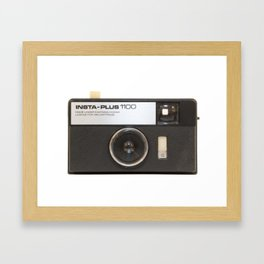 Instamatic Camera Framed Art Print