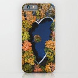 Autumn Love iPhone Case