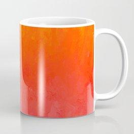 Coral, Guava Pink Abstract Gradient Coffee Mug