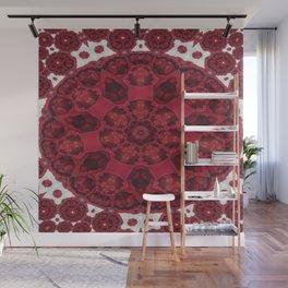 In Between Rose Mandala 5 Wall Mural