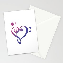 Bi my Heart Stationery Cards
