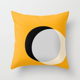 Eclipse - Gold Variant Throw Pillow