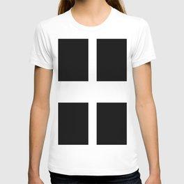 Saint Piran's Flag of Cornwall UK T-shirt