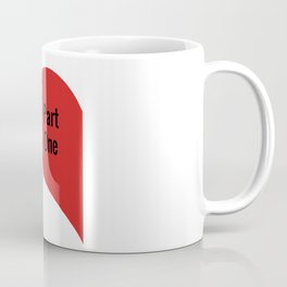 Heart Part One Coffee Mug