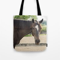 charlie Tote Bags featuring Charlie by Images by Nicole Simmons
