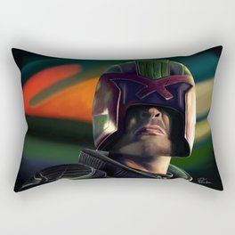 Judge Dredd Rectangular Pillow