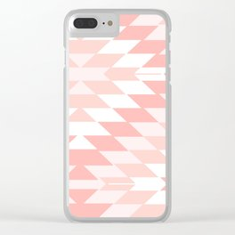San Pedro in Pastel Pink Clear iPhone Case