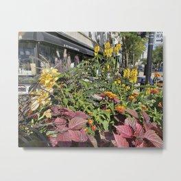 Madison WI Urban Color 2 Metal Print