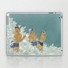 Three Ama Enveloped In A Crashing Wave Laptop & iPad Skin