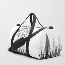 I'd Rather Be in the Forest Duffle Bag