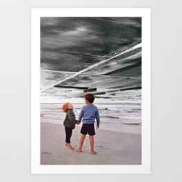 The Foreshadow Art Print