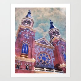 St. Mary's Catholic Church Art Print