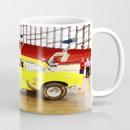 Yellow Roadster Coffee Mug