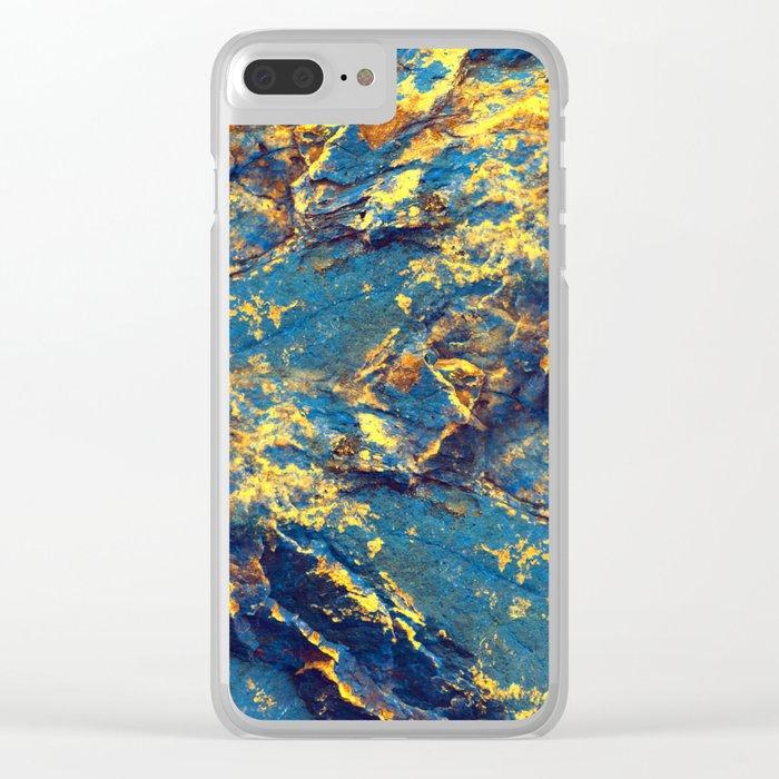 GOLDMINE Clear iPhone Case