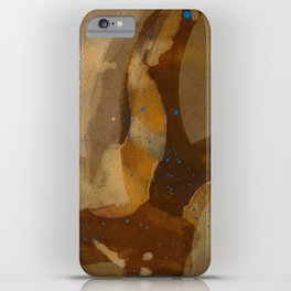 joelarmstrong_rust&gold_69 iPhone Case