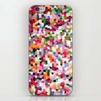mosaic iPhone & iPod Skins featuring Mosaic by Laura Ruth