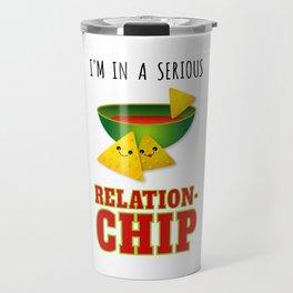 Funny Serious Relationchip Cinco de Mayo Travel Mug
