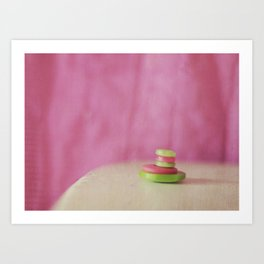 Buttons Art Print