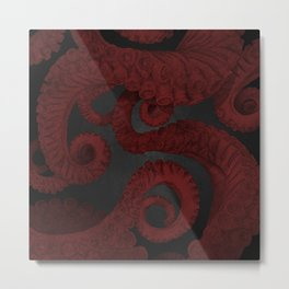 Octopus 4. Metal Print