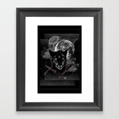 Hungry knights Framed Art Print