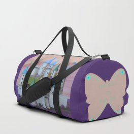 Enchanted Castle after Sunset Duffle Bag
