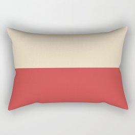 Dutch White/Lava Rectangular Pillow