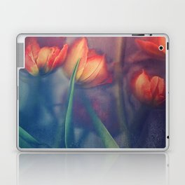 Orange Tulips Laptop & iPad Skin