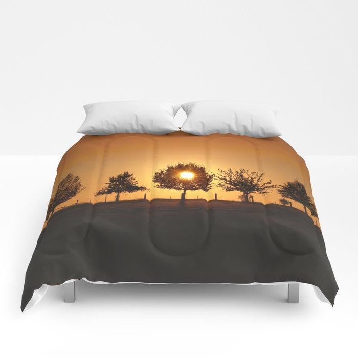 Beautiful Nature Panorama Comforters