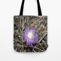 plant Tote Bags featuring plant by  Agostino Lo Coco