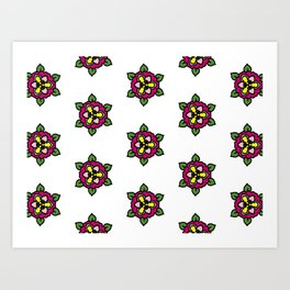 Floral 13 Art Print