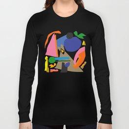 Abstract morning Long Sleeve T-shirt