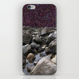 Glitter Tide iPhone Skin