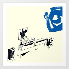 Consoled Art Print