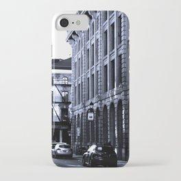 Street - Blue iPhone Case