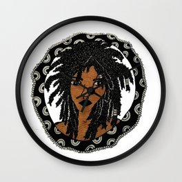 Miss Medusa Wall Clock