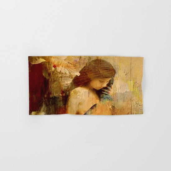 The message of Marie de Magdala Hand & Bath Towel