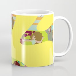 YellowMosaicDance Coffee Mug
