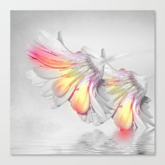 Gerbera Style Canvas Print