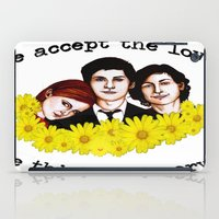 the perks of being a wallflower iPad Cases featuring Perks of being a Wallflower by Lydia Dick