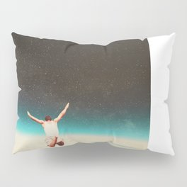 Falling with a hidden smile Pillow Sham