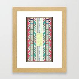 African Tribe Framed Art Print