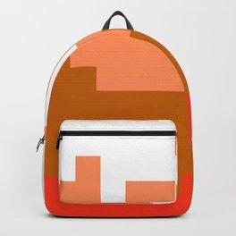 Mario (NES) pixel scramble Backpack
