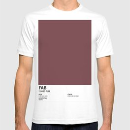 Fab - Colour Card T-shirt