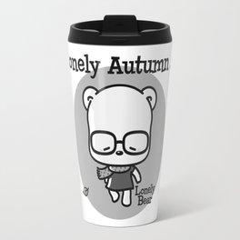 Lonely Autumn Travel Mug