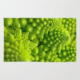 Macro Romanesco Broccoli Rug