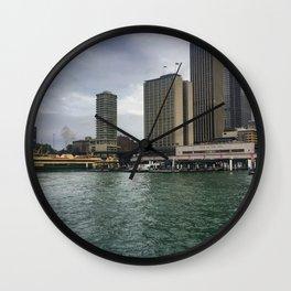 Sydney Ferry Terminals Wall Clock