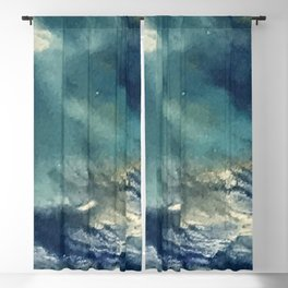 """Rumors, Darling...Just Rumors"" Abstract Painting Blackout Curtain"