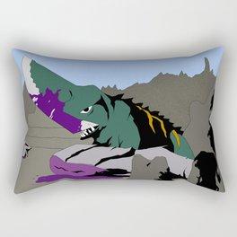 Gamera vs. Guiron Rectangular Pillow